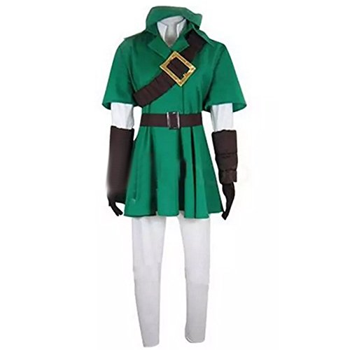 Lanrui-Diabolik-The-Legend-of-Zelda-Link-Grn-Kleidung-Anzug-Kostm-Custome-Cosplay-nach-Ma-0