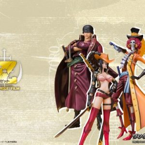 <Soul web, Limited production> Figuarts ZERO ONE PIECE FILM Z battle clothes Ver. Set (Zoro Robin Brook) (japan import)