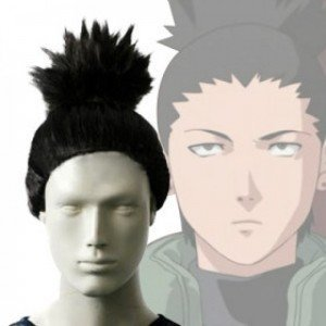 by HK HuiMaiYi Technology Co.,Ltd Hmy Japan Anime Cosplay Wig Naruto Shikamaru Nara Cosplay Wig