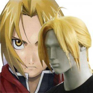by HK HuiMaiYi Technology Co.,Ltd Japan Anime FullMetal Alchemist Edward Elric Cosplay Wig