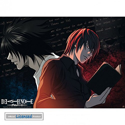 1art1 78676 Death Note – L Vs Light Mini-Poster 52 x 38 cm