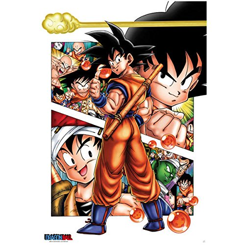 ABYstyle ABYDCO188 – Poster Dragon Ball, Son Goku Story