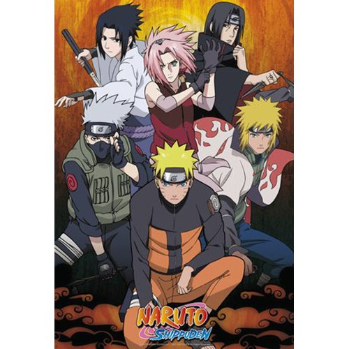 ABYstyle ABYDCO272 – Poster Naruto Shippuden, Gruppe