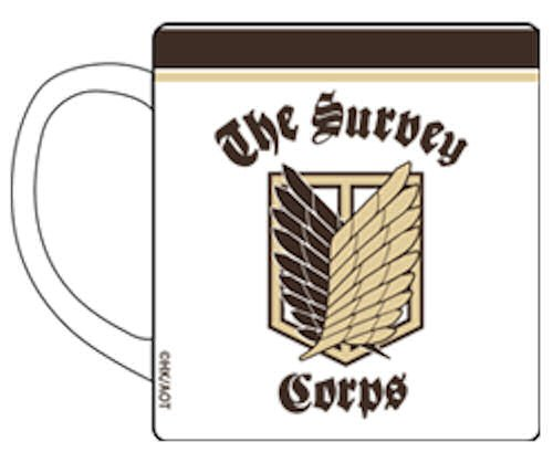 Attack on Titan Cospa Becher / Tasse: Scouting Legion Survey Corps Aufklärungstrupp