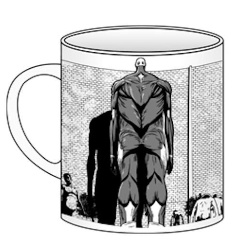 Attack on Titan Cospa Becher / Tasse: Titan Wall