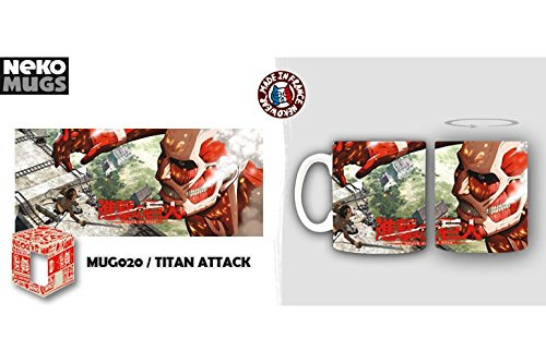 Attack on Titan (Shingeki no Kyojin) Nekowear Tasse Becher: Colossal Titan (325 ml)