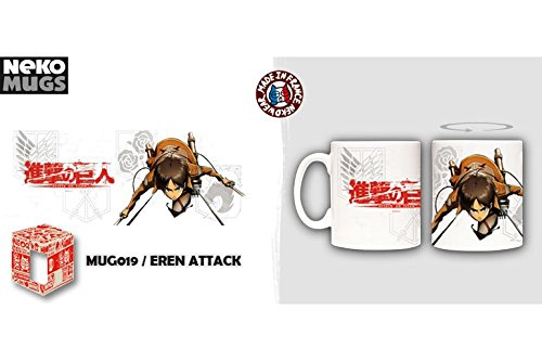 Attack on Titan (Shingeki no Kyojin) Nekowear Tasse Becher: Eren Attack (325 ml)