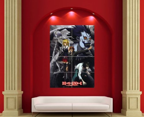 DEATH NOTE ANIME MANGA GIANT WALL ART PRINT POSTER PLAKAT DRUCK PICTURE EN168