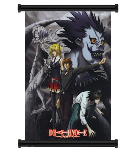 Death Note Anime Fabric Wall Scroll Poster (16×23) Inches