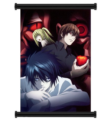 Death Note Anime Fabric Wall Scroll Poster (16×24) Inches