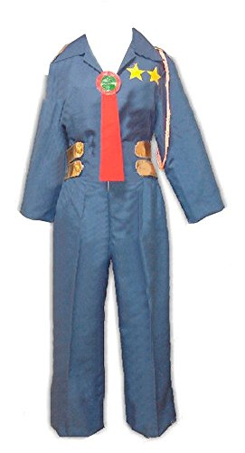 CUSTOM-MADE Gurren Lagann Kittan Legal Affairs Bureau Chief Costume Herren