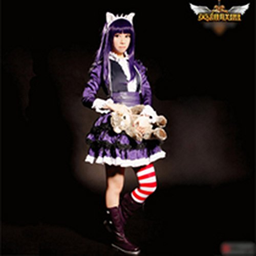 Lol Champions Annie Cosplay Costumes Fancy Lolita Dress Cos Boots Clothes Socks Christmas Gift