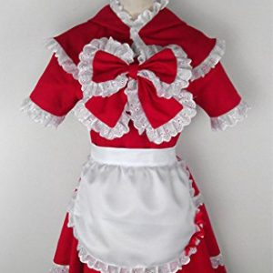 Vivian LOL League of Legends The Dark Child Annie Little Red Riding Hood Cosplay Kostüm Customize b2(kann angepasst werden),Größe L:(165-170 CM)