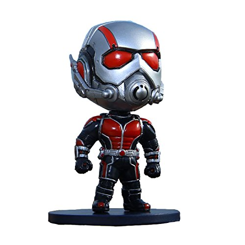 Action Figur: DC Comic Hero Ant-Man Cute Action Figure (Silver Color)