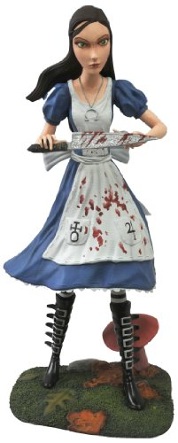 [UK-Import]Femme Fatales Alice Madness Returns PVC Statue
