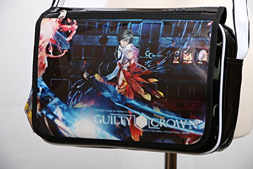B-091 Guilty Crown Shu Ouma Inori PVC Lack Umhänge-Tasche Messenger Bag Manga Anime Kawaii-Story
