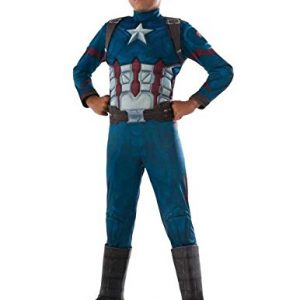 Captain America Deluxe – Civil War Captain America – Kinder-Kostüm