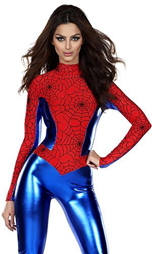 damen 1 stck jumpsuitbodysuit spidermanspiderwoman superhelden kostm gre