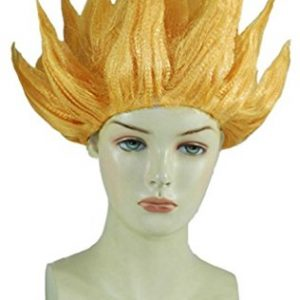 Dragon-Ball-Z-Goku-or-jaune-Cosplay-Costume-Perruque-0