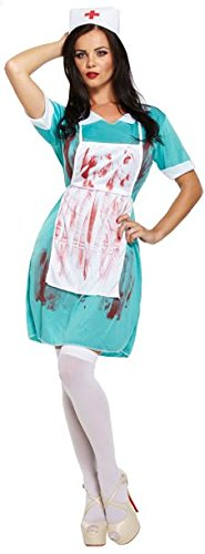 Zombie Krankenschwester Blutige Halloween Kostüm Zombie Nurse Bloody Halloween Fancy Dress Costume