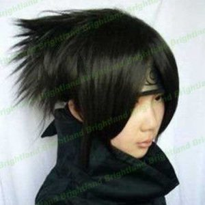 Flyingdragon Death Note Short Black Uchiha Sasuke Cosplay Wig by FD