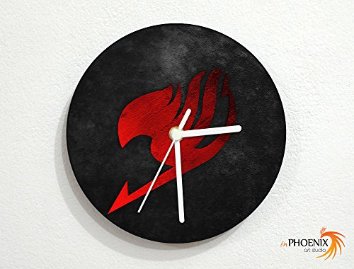 Fairy Tail – Logo – Emblem – Symbol – Wizards Guild – Japanese Anime – Custom Name Wall Clock