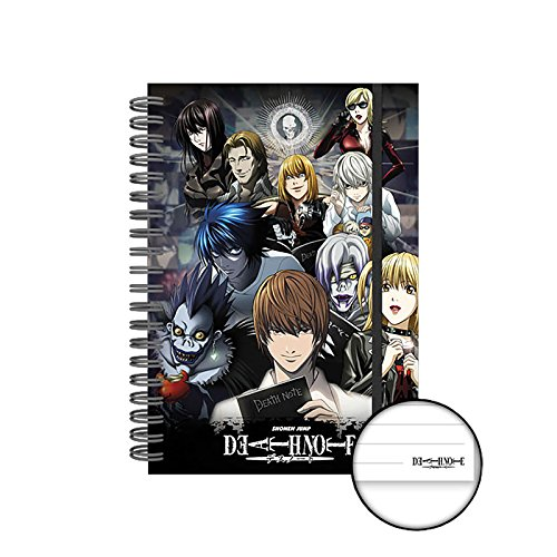 GB eye Ltd, Death Note, Collage, Heft A5