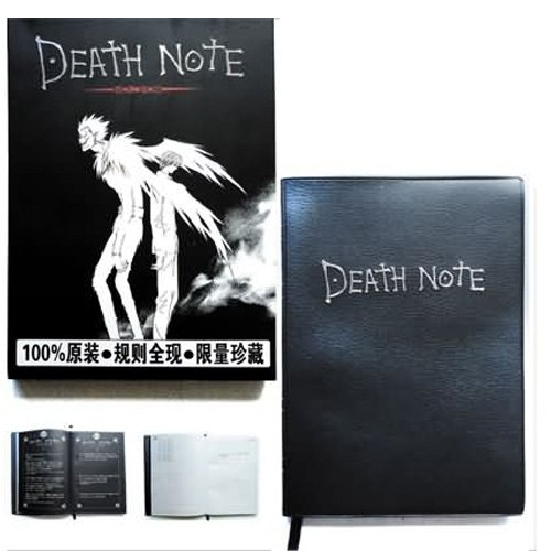 DEATH NOTE COSPLAY NOTEBOOK LIGHT YAGAMI, in box